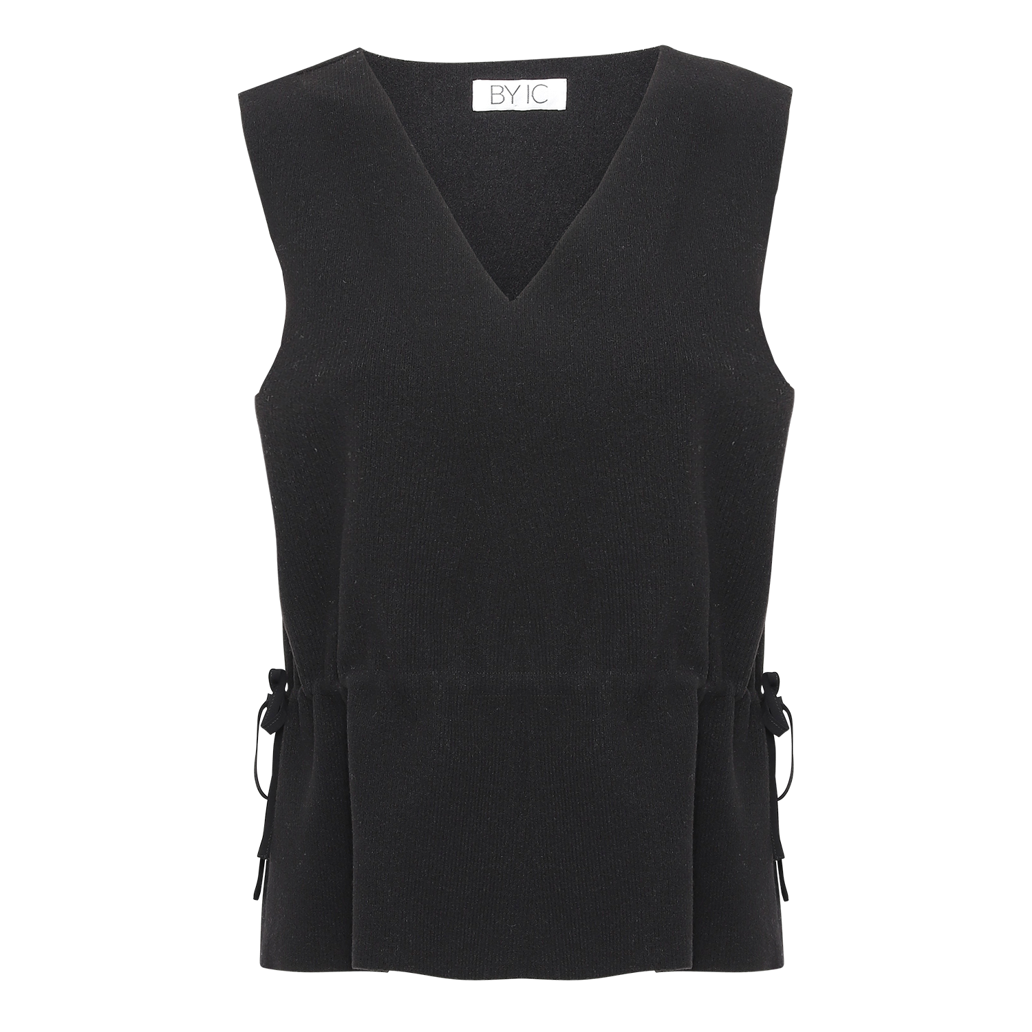 Image of   Andrea Knit Vest - Sort