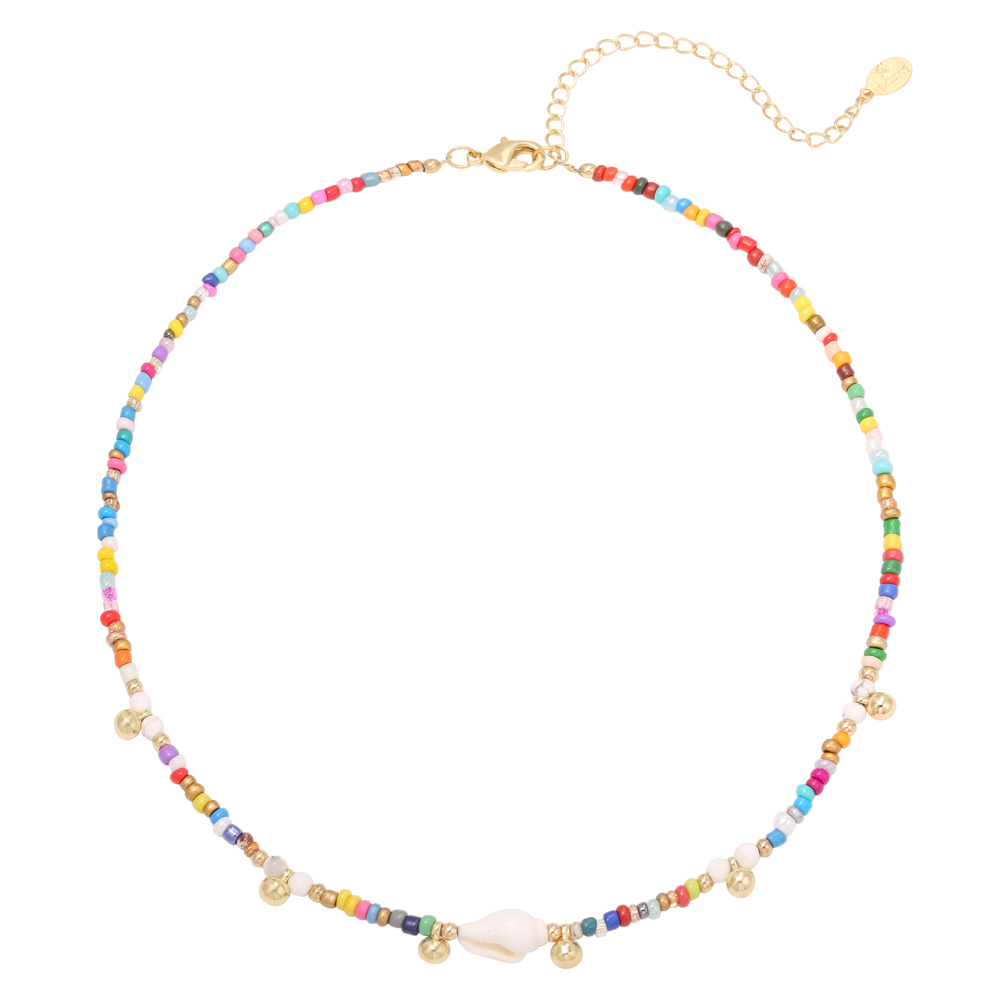 Colored Shell Necklace