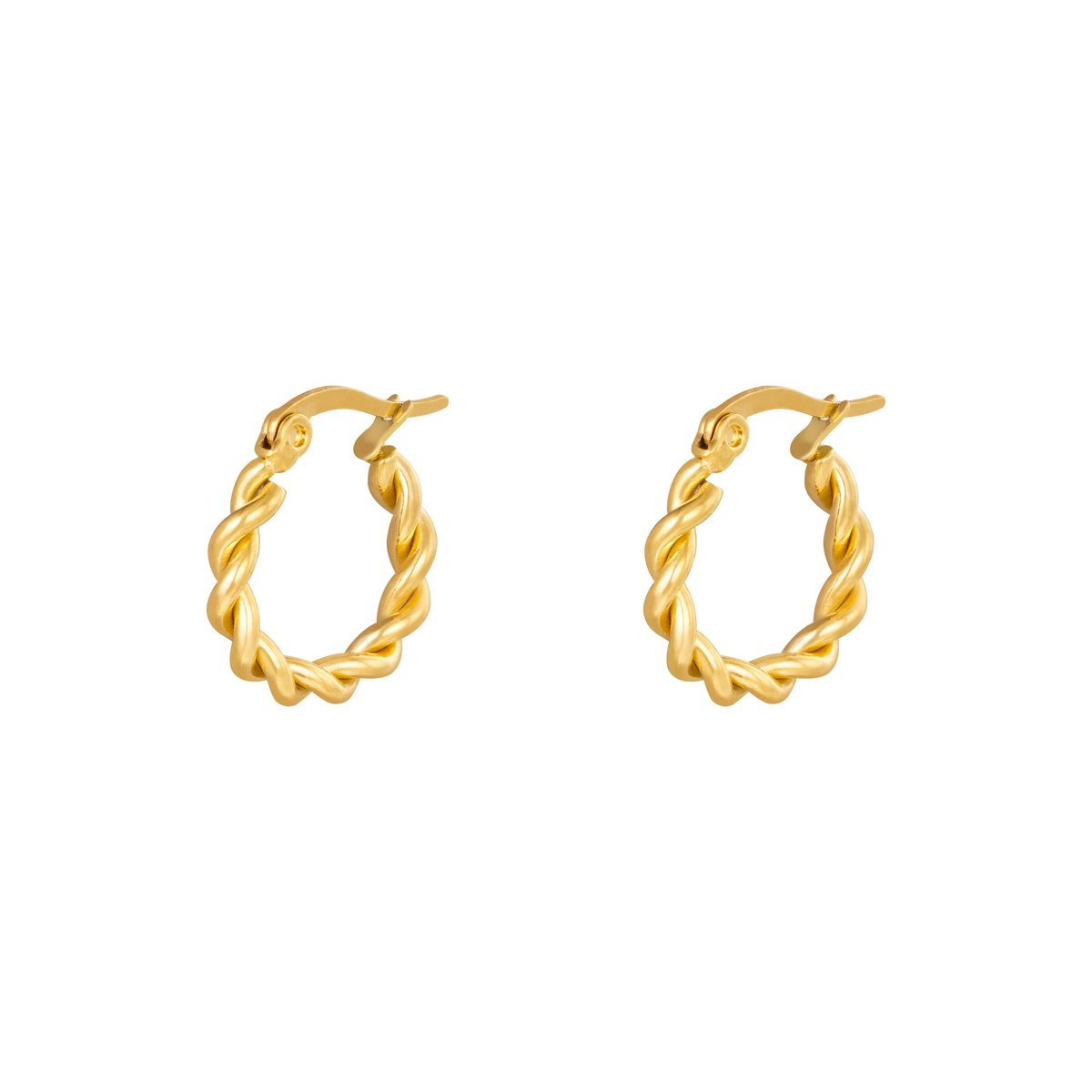 Twined Hoops - 15mm