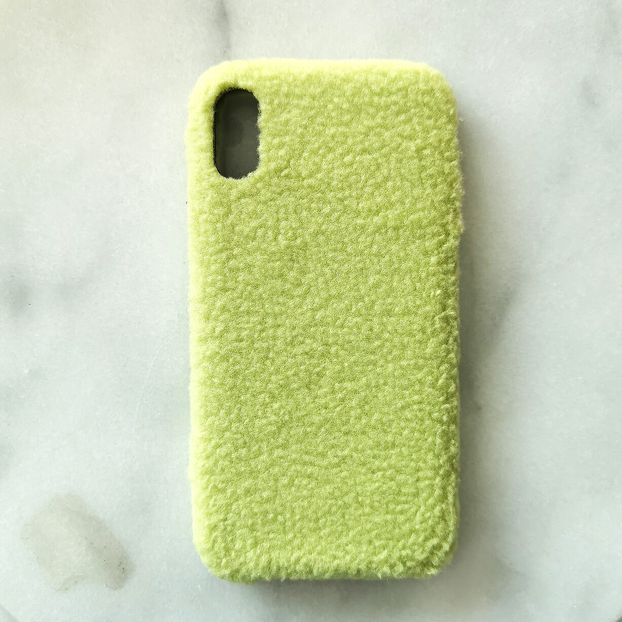 Green and furry iPhone Cover
